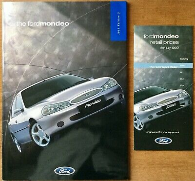 Ford Mondeo Sales Pack - 1999 - **FREE P&P**