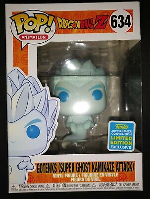 Funko POP! Dragon Ball Z - Gotenks (Super Ghost Kamikaze Attack) SDCC 2019