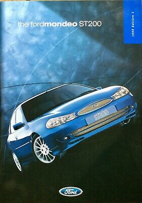Ford Mondeo ST200 Sales Brochure - 1999 - **FREE P&P**