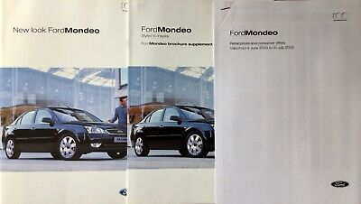 Ford Mondeo Sales Pack - 2003 - **FREE P&P**