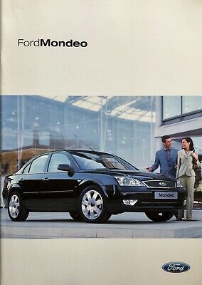 Ford Mondeo Sales Brochure - 2004 - **FREE P&P**
