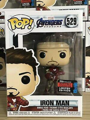 Funko POP! Iron Man with Gaunlet #529 NYCC Fall Convention Marvel Avengers New