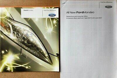 Ford Mondeo Preview Brochure - 2007 - **FREE P&P**