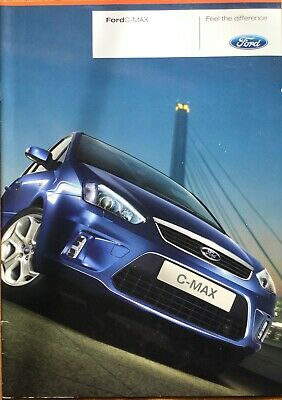 Ford C-Max Preview Brochure - 2007 - **FREE P&P**