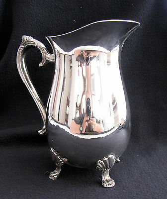 SILVER PLATED WATER PITCHER - PICHET ARGENT - Elegance in Silver