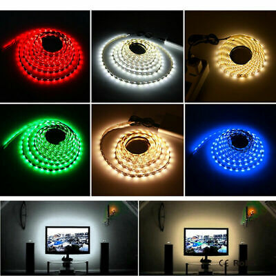 1M Waterproof Dimmable LED Flexible Strip, 100CM 1 Metre 60 Bright SMD LED