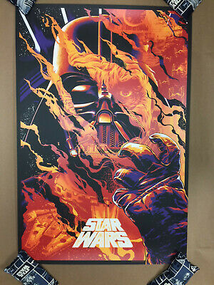 Star Wars Darth Vader Screen Print Poster #7/150 Anthony Petrie not Mondo