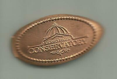 Copper elongated penny (cent) COMO PARK & CONSERVATORY St. Paul MN RETIRED DIE#1