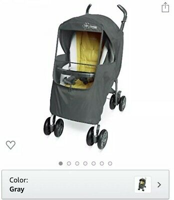 Manito Manito Elegance Plus Stroller Weather Shield Grey
