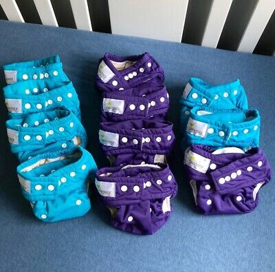 OsoCozy All In One AIO Cloth Diapers Sz 1 (11 Total)