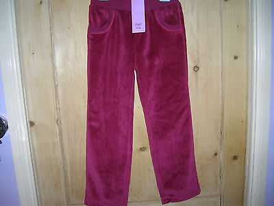 Velour Trousers for Girl 6-7 years F&F