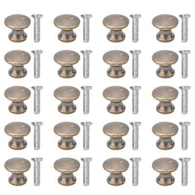 20x Decorative Mini Jewelry Box Chest Case Drawer Cabinet Door Pull Knob Handle