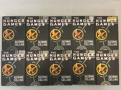 The Hunger Games by Suzanne Collins Book 1 Hardcover Classroom Set Lot of 10