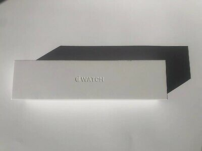 Apple Watch Series 4 44 mm Stainless Steel Case White Sport Band CellularMint