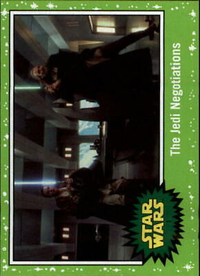 2019 Topps Star Wars Journey to Rise of Skywalker Green Singles -Pick Your Cards