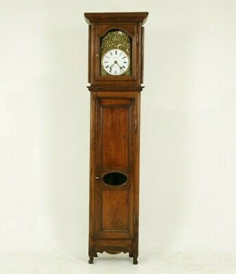 Antique Grandfather Clock, Long Case Clock, Walnut, France 1880, B826