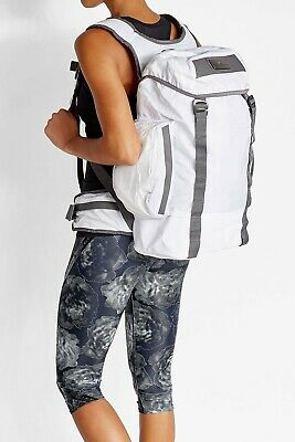 Adidas by Stella McCartney Large Backpack Running/Fitness/Travel Msrp 180 White