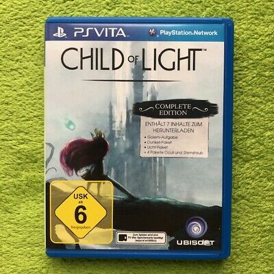 PS Vita - Child of Light: Complete Edition