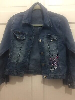 Girls Jeans Lifor's Denim Jacket Age 12 Years, Perfect Condition