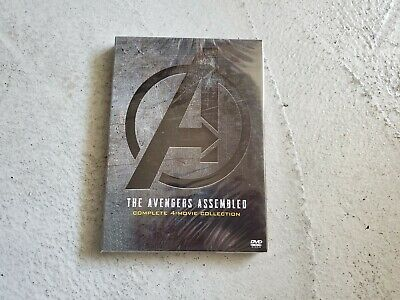 Avengers All 4 Movies Boxset End Game Infinity War Age of Ultron Avengers USA