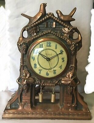 Windsor Gibraltar Admiral Metal Mantel Cuckoo Clock - Model 240