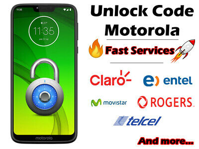 Unlock codes Motorola Worldwide g7/g5/z2/e4/e5/g6 and more Fast service