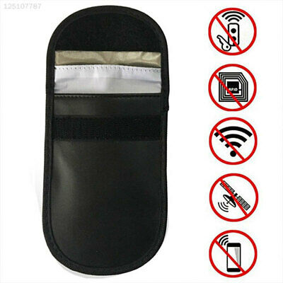 D6E9 Signal Blocker RFID Black Car Key Signal Blocker Case Keyless Entry Genuine