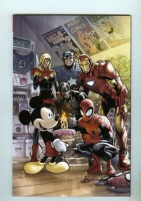 Marvel Comics #1000 Disney D23 Expo 2019 Humberto Ramos Variant NM SEE SCANS