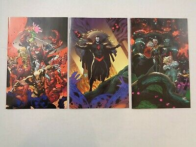 House of X #4 and #6 Powers of X #5 1:100 Virgin Variant Lot of 3 Marvel 2019