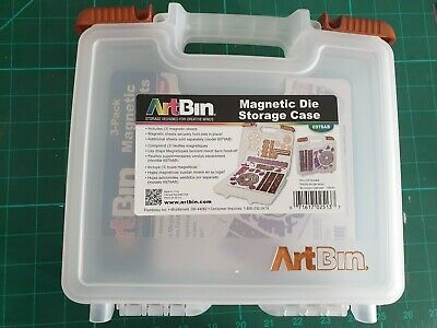 Artbin Magnetic Die Storage Case And 8 Sheets