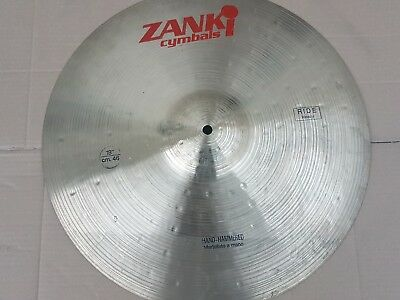 "90's ZANKI 18"" HEAVY RIDE CYMBAL - made in ITALIA"