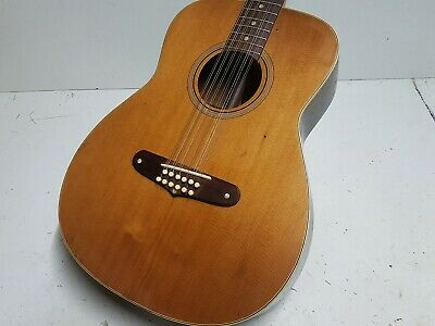 1971 FENDER VILLAGER 12 STEEL STRING - made in USA