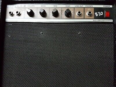 Hartke B 30 Bass Amp - Top Sound !