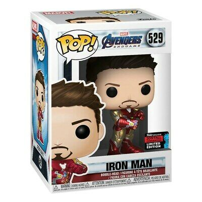 Funko POP! Vinyl: Iron Man with Gauntlet Marvel Avengers Endgame - NEW