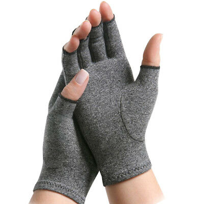 New 2X Unisex Anti Arthritis Gloves Hand Support Pain Relief Finger Compression