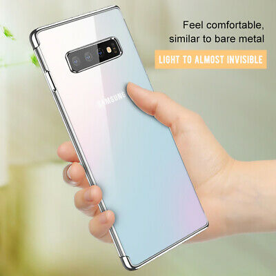 For Samsung Galaxy S8 S9 S10 Plus Luxury Ultra thin Shockproof Bumper Case Cover