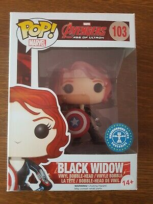 Funko Pop Marvel Avengers Age of Ultron Black Widow #103 Underground Toys Exclu