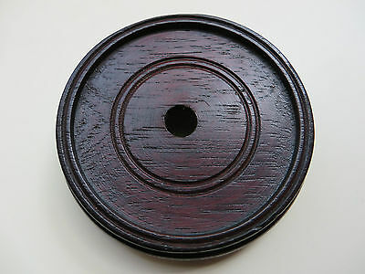 WOOD BASE for display of bowls, vases, figurines, trophies or lampbases (WB1)