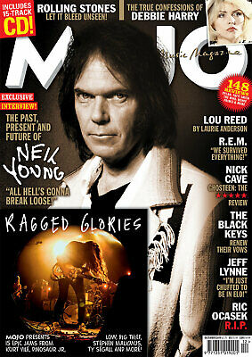 Mojo Magazine + Cd December 2019 (Neil Young, Stones, Rem, Lou Reed, Nick Cave)