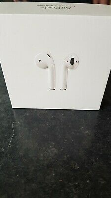 Apple AirPods 2nd Generation. With Charging Case - White