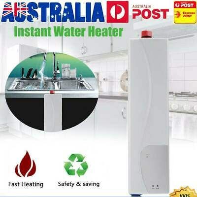 Instant Electric Tankless Hot Water Heater Shower System Under Sink Tap Faucet