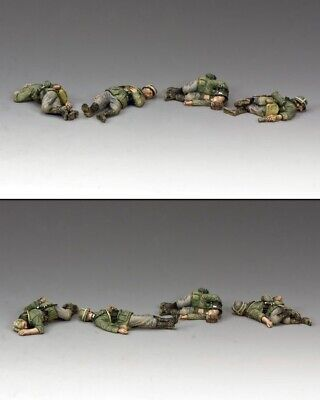 Tin Soldiers 1/30 By King and Country WS294 Dead German Soldaten