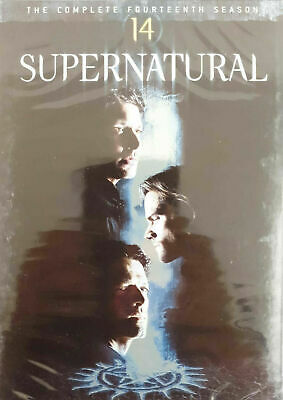 SUPERNATURAL complete season/series 14 DVD brand new Rapid Dispatch