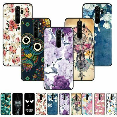 For Xiaomi Redmi 8A Note 8 Pro Slim Soft Silicone Rubber Painted TPU Case Cover