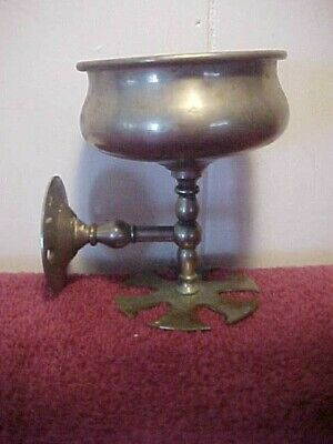Antique Metal Toothbrush/Cup Holder For Your Bath