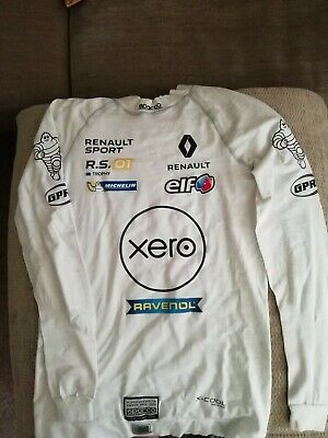 FIA SPARCO X-Cool Silver top underwear racing Motorsport XS/S Renault