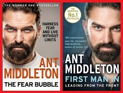 Ant Middleton Double Pack ~ The Fear Bubble & First Man In ~ NEW