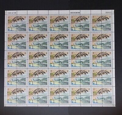 1972 US 2c NATIONAL PARKS CENTENNIAL SHEET 100 STAMPS;SC# 1448-51 (As Pictured)