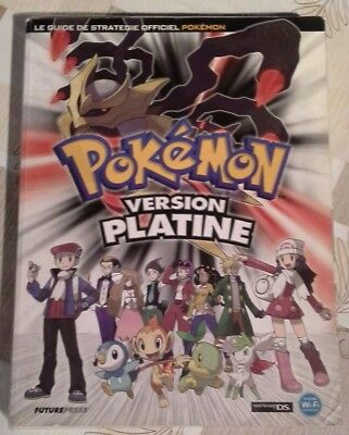 Guide Officiel Version Platine Pokemon