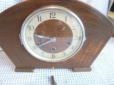 old wooden clock  byhaller 3 hole